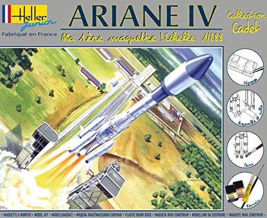 Heller Junior - 49071 - Maquette - Ariane IV