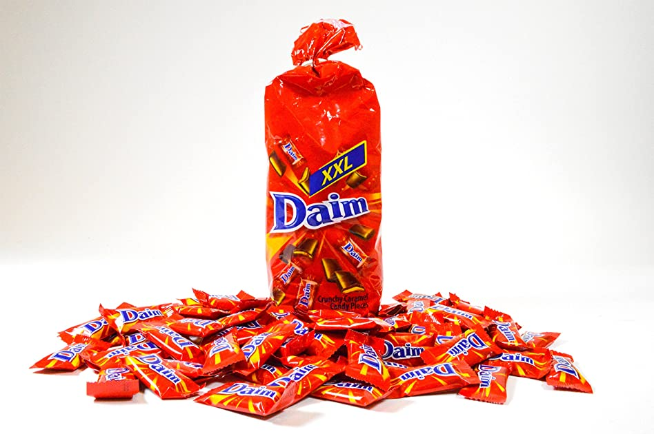 daim swedish chocolate covered toffee crunchy caramel minis 460g 16oz bag imported from. Black Bedroom Furniture Sets. Home Design Ideas