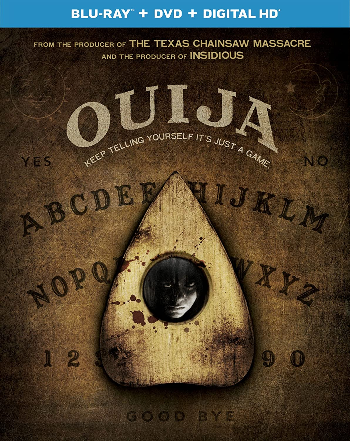 Ouija (2014) Horror (BLURAY) added