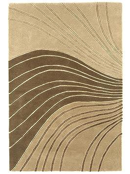s benuta tapis de salon moderne moderne matrix pas cher beige 90x150 cm cm label de. Black Bedroom Furniture Sets. Home Design Ideas