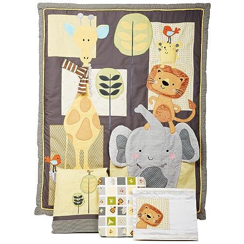 Lambs & Ivy Cornelius 4 Piece Bedding Set