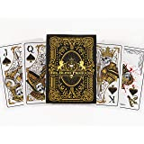 Sleek Original Hand Drawn Designs Dead Money PVC Playing Cards-Water Proof, Bendable. Perfect Casino or Texas Hold'em Las Vegas Adult Parties or Game Night. Quality Plastic Deck. Pool/Lake Fun