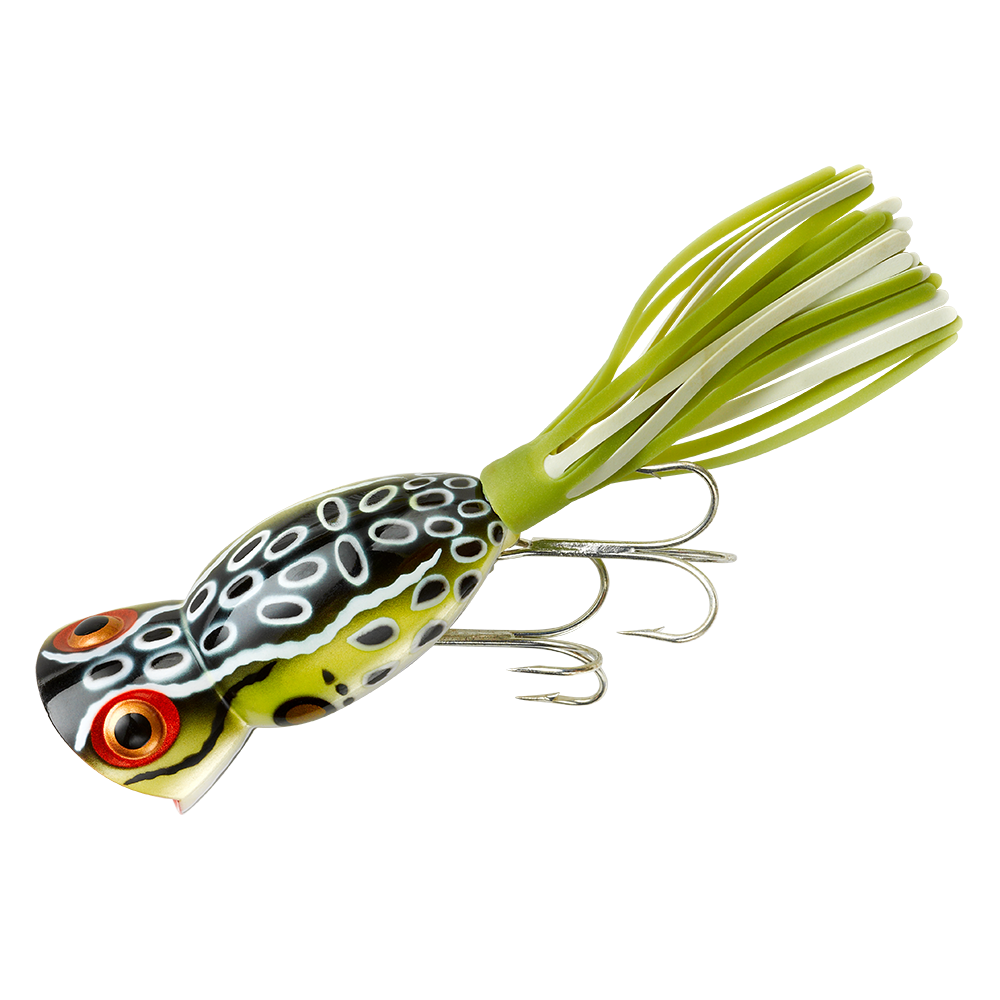 arbogast lure company hula popper fishing