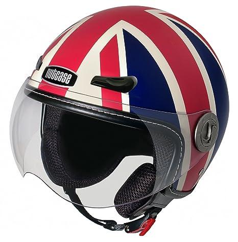 NUTCASE moto nMTO - 1021 union jack tapis casque de moto