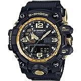 Casio Master of G Mudmaster Black Dial Resin Quartz Men's Watch GWG1000GB-1A (Color: Black)