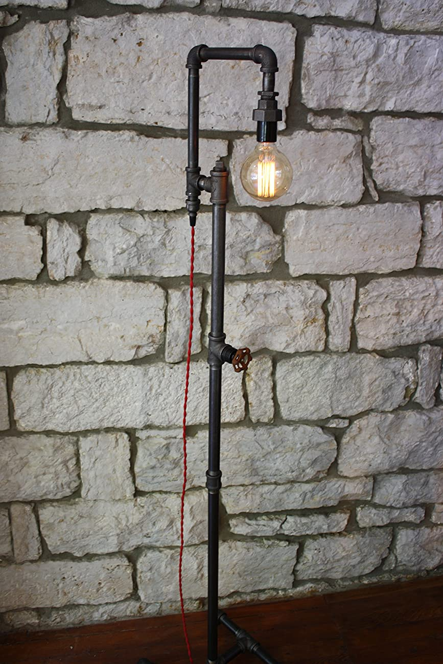 Edison Bulb Floor Lamp - Industrial Style Floor Lamp 4