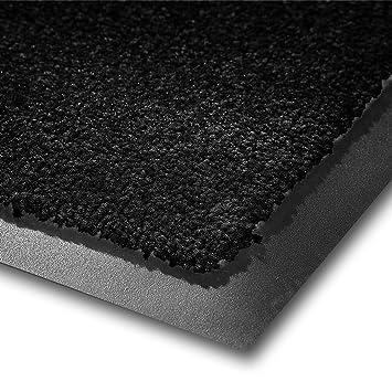tapis d 39 entr e casa casa pura mono noir qualit lev e lavable et. Black Bedroom Furniture Sets. Home Design Ideas