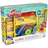 Play-Doh Fun Factory Deluxe Set (Color: Brown, Tamaño: X-Large)