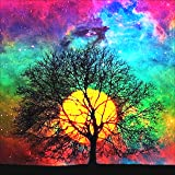 5D Diamond Painting Kit, Full Drill Arts Craft Canvas Supply for Home Wall Decor Adults and Kids (A-14X14in) (Color: A-14*14in, Tamaño: A-14In*14In)