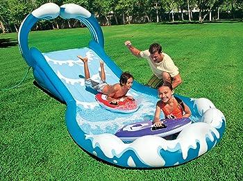 Intex Surf 'N Slide Inflatable Play Center, 174