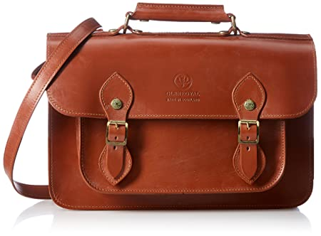 GLENROYAL[グレンロイヤル] SATCHEL BAG WITH D-RING 02-6026