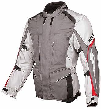 Fieldsheer veste de moto adventure touring grande taille :  xL, couleur :  gris métal (830)