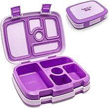 Bentgo Kids - Leakproof Childrens Lunch Box Purple