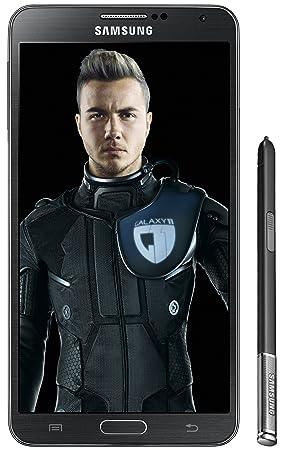 Samsung Galaxy Note 3 Smartphone débloqué, Ecran 5,7 pouces, 32 Go mémoire, 13 Mégapixels, Android 4.3 Jelly Bean, 3Gb RAM, Noir