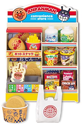 Anpanman shop spread! Anpanman convenience store more shopping set