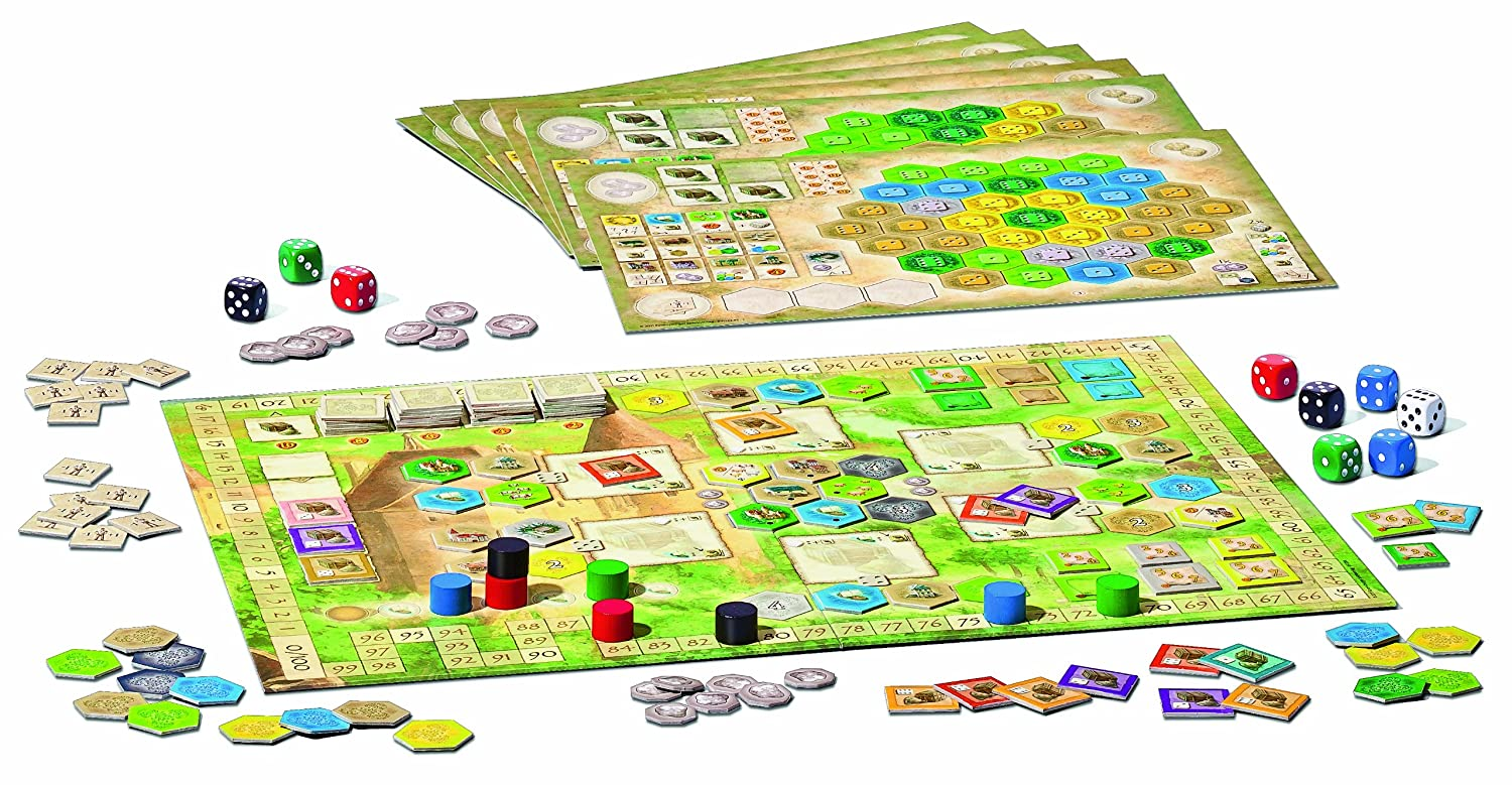 the castles of burgundy game