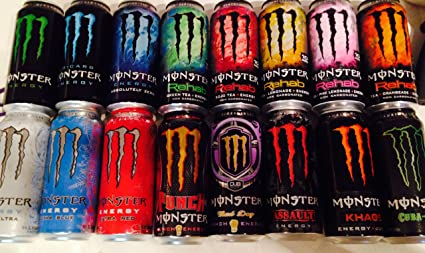 Energy Drinks Flavors Energy Drink Variety Pack