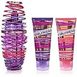 Justin Bieber Girlfriend 3 Piece Gift Set for Women (Tamaño: 3.4 oz)