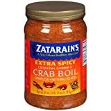 Zatarain's Extra Spicy Crawfish, Shrimp & Crab Boil Seasoning, 63 oz