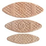 Trend BSC/MIX/1000 Number 0 10 20 Trend Wooden Biscuits (1000 Pack) (Tamaño: Variety)