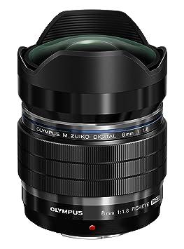 Olympus EF-M0818 Pro 8mm Objectif optique pour Réflex Fisheye Noir