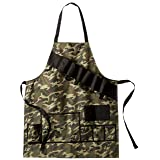 EZ Drinker Grill Master Grill Apron and Accessory Holds Beverages and Tools, Camouflage (Color: Camouflage)