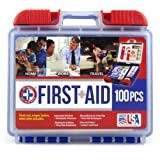 Be Smart Get Prepared 100 Piece First Aid Kit, Clean, Treat and Protect most injuries with the kit that is great for any home, office, vehicle, camping and sports. 0.71 Pound (Color: Asin B00cybxh7g Be Smart Get Prepared 100 Piece First Aid Kit, Clean, Treat and Protect Most Injuri)