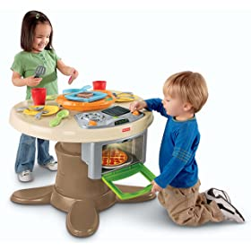Fisher-Price Servin Surprises Kitchen & Table