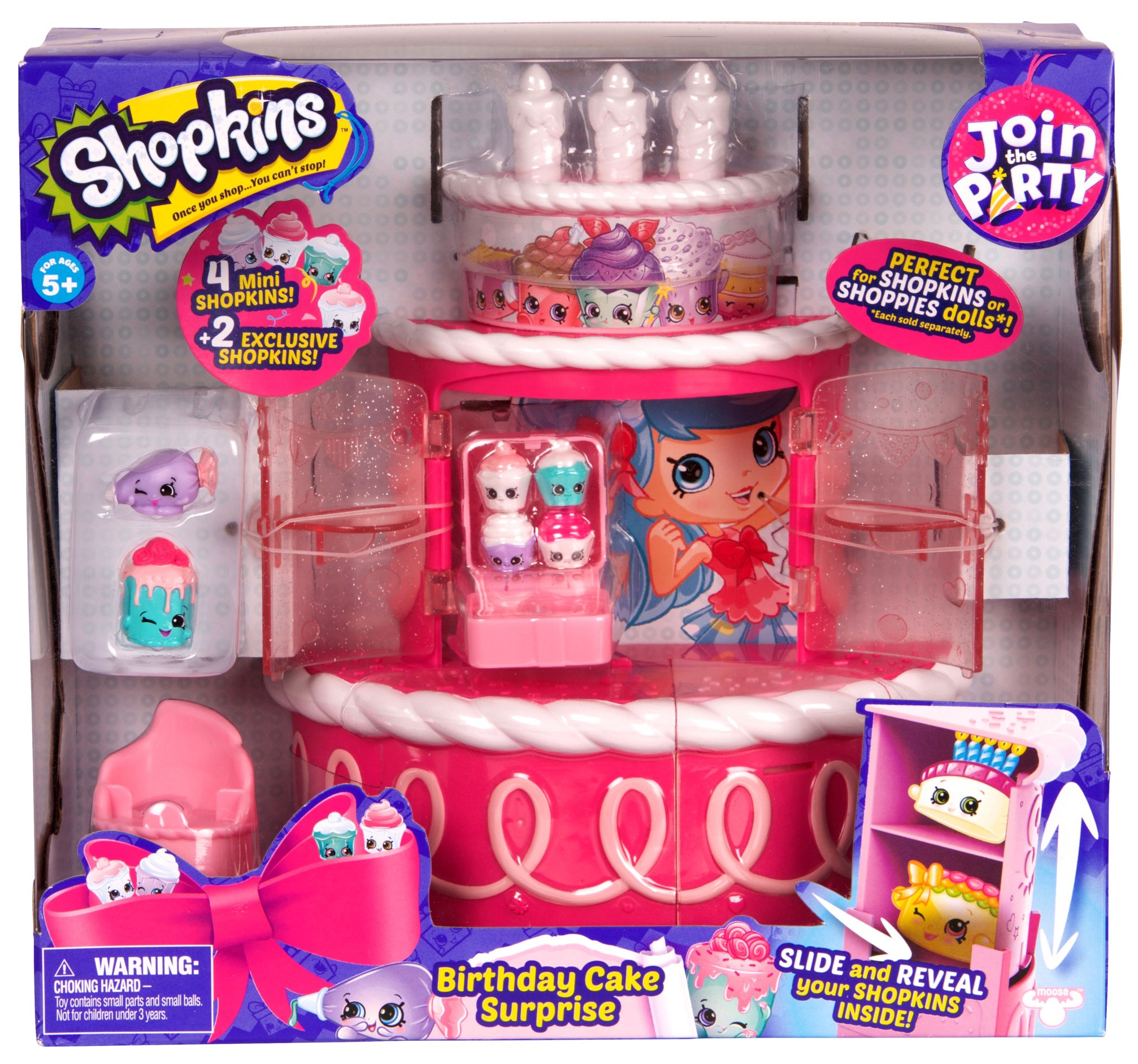 Birthday Cake Surprise Party Shopkins