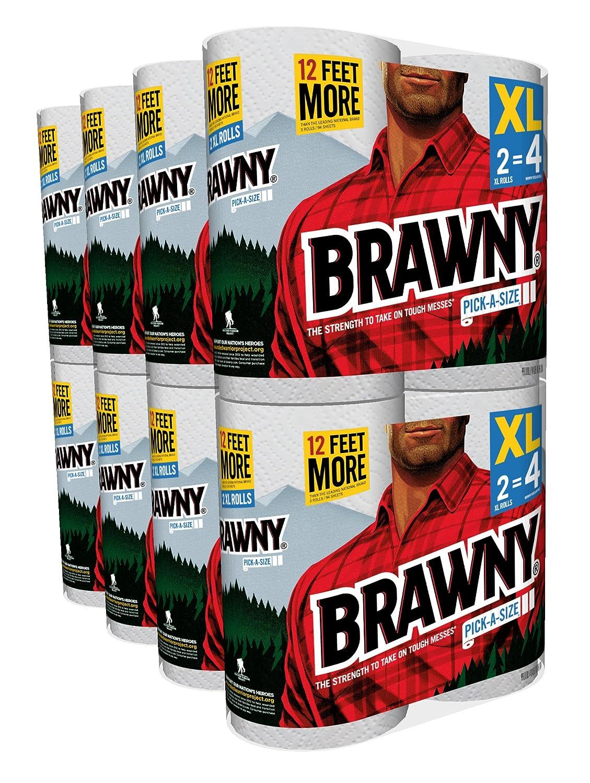 Brawny Pick-A-Size Paper Towels, 16 XL Rolls