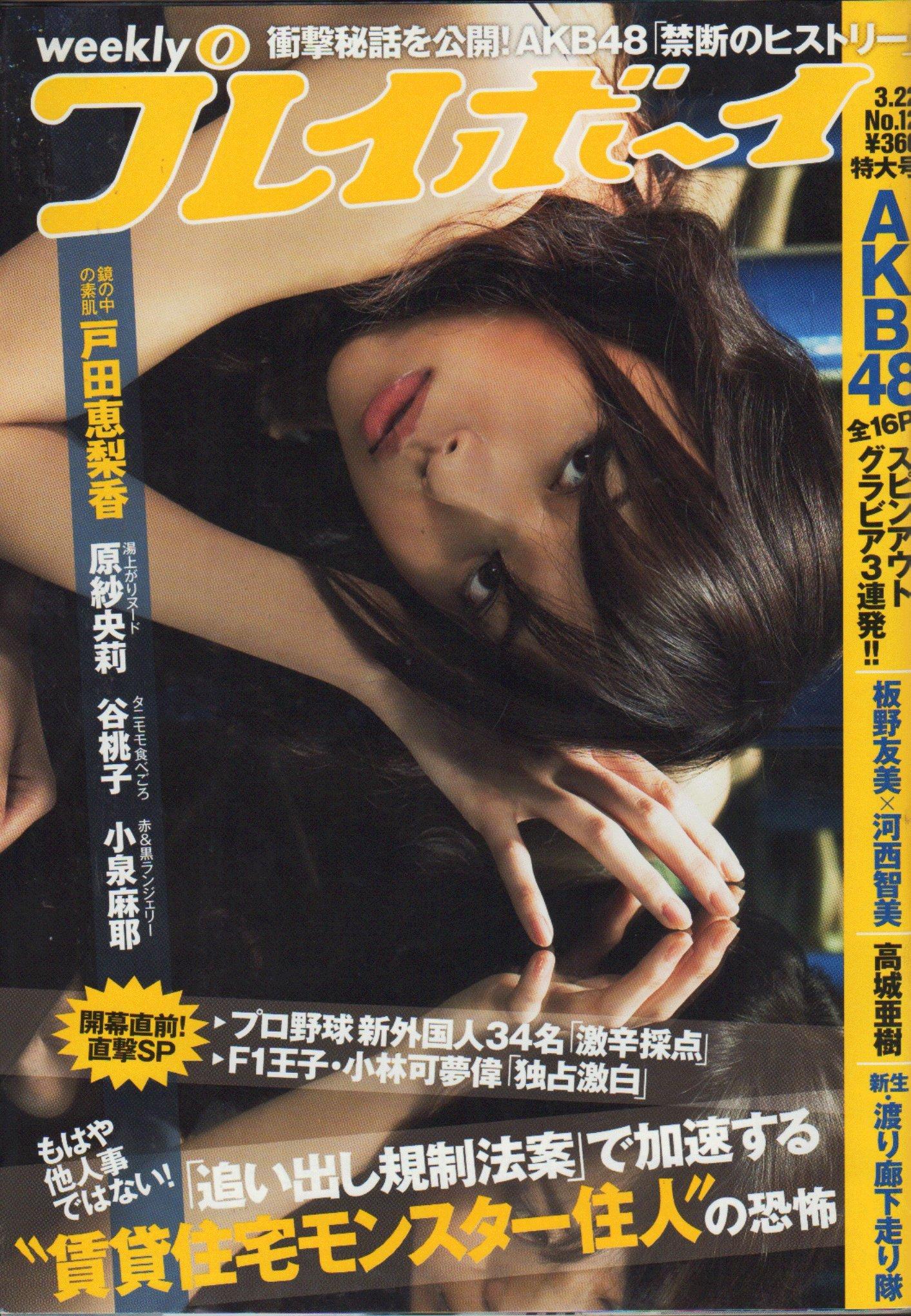 週刊プレイボーイ 2010年3月22日号