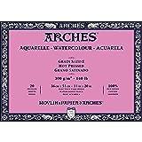 Arches Watercolor Paper Block, Hot Press, 14