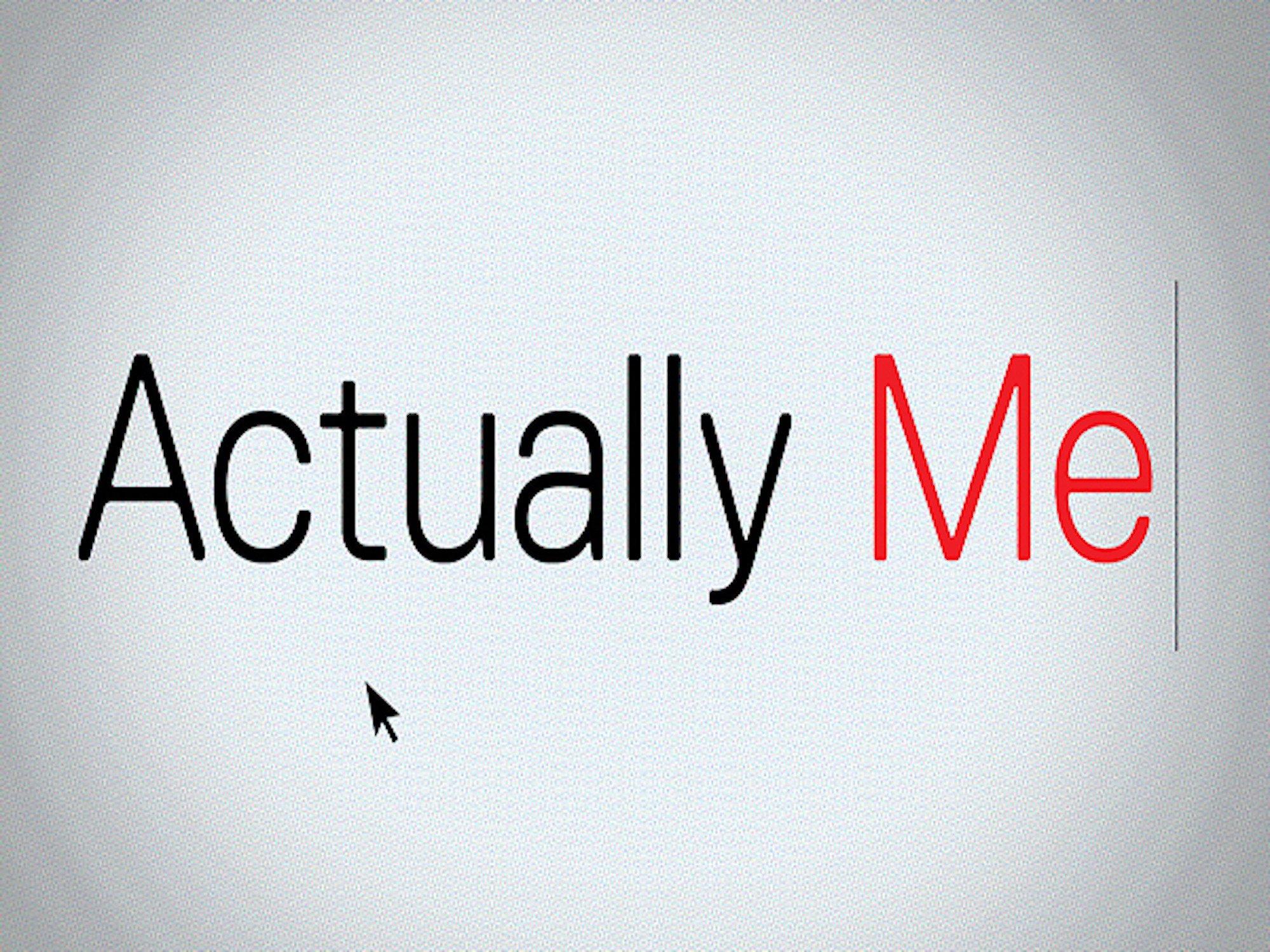 Actually Me - Season 1