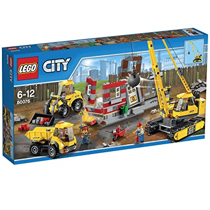 LEGO City - 60076 - Jeu De Construction - Le Chantier De Démolition