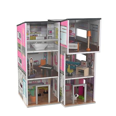 KidKraft - 65883 - Maison poupée - Maisonnette contemporaine luxe