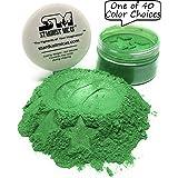 Green Pigment Powder for Resin, Wood Inlay Powder, Bright Green Mica Powder for Soap Making, Bold Pigment Color for Resin, Color Stable Mica Stardust Micas Grassy Green (Grassy Green, 36 Gram Jar) (Color: Grassy Green, Tamaño: 36 Gram Jar)