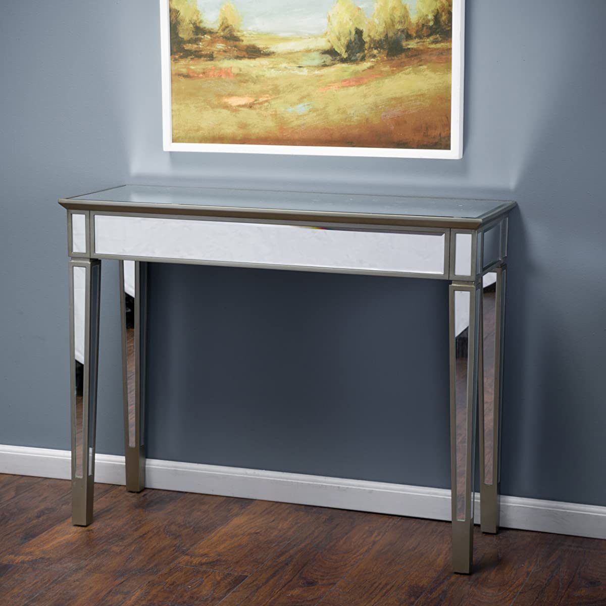 Great Deal Furniture Graham Mirror Console Table