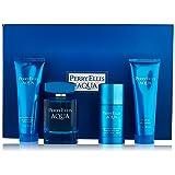 Perry Ellis Aqua Perry Ellis Men Gift Set (Eau de Toilette, After Shave Gel, Shower Gel, Deodorant)