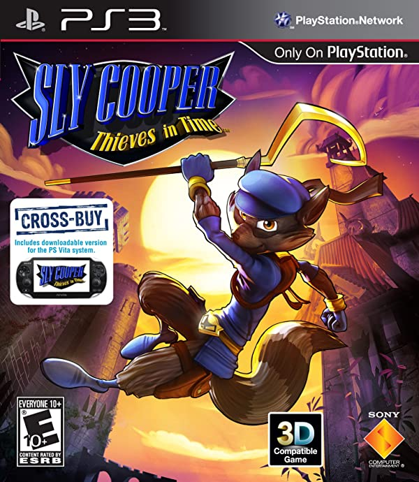 Sly Cooper: Thieves in Time PS3.