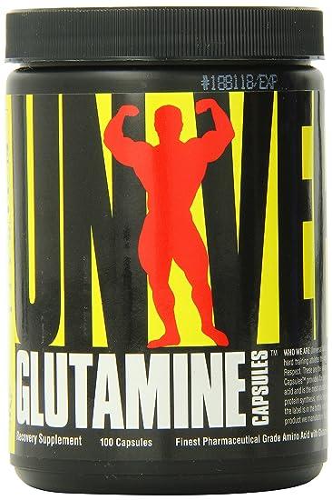 Universal Glutamine 100 Capsules