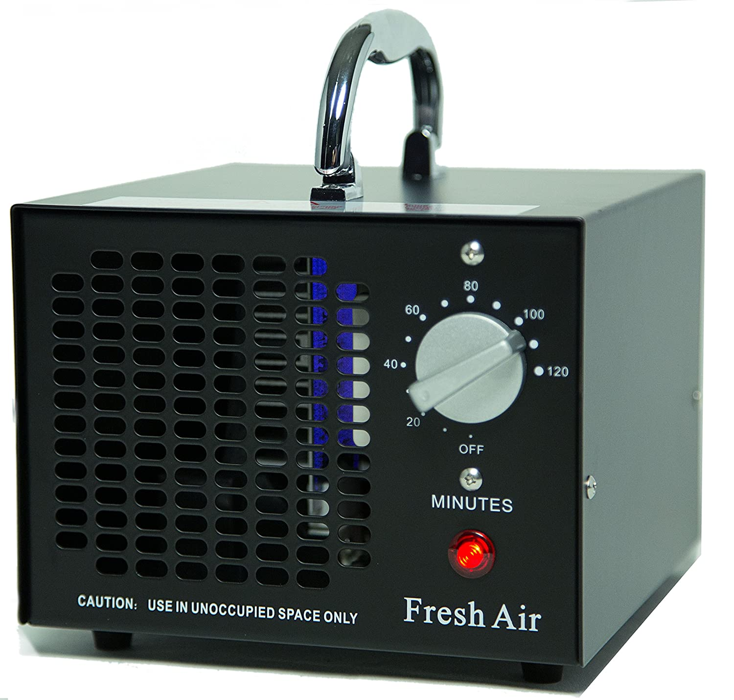 Fresh Air Commercial Air Purifier Ozone Generator 3500mg Cleaner Deodorizer (Black)