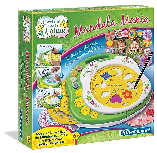Clementoni - 62381.5 - Loisir Créatif - Mandala Mania