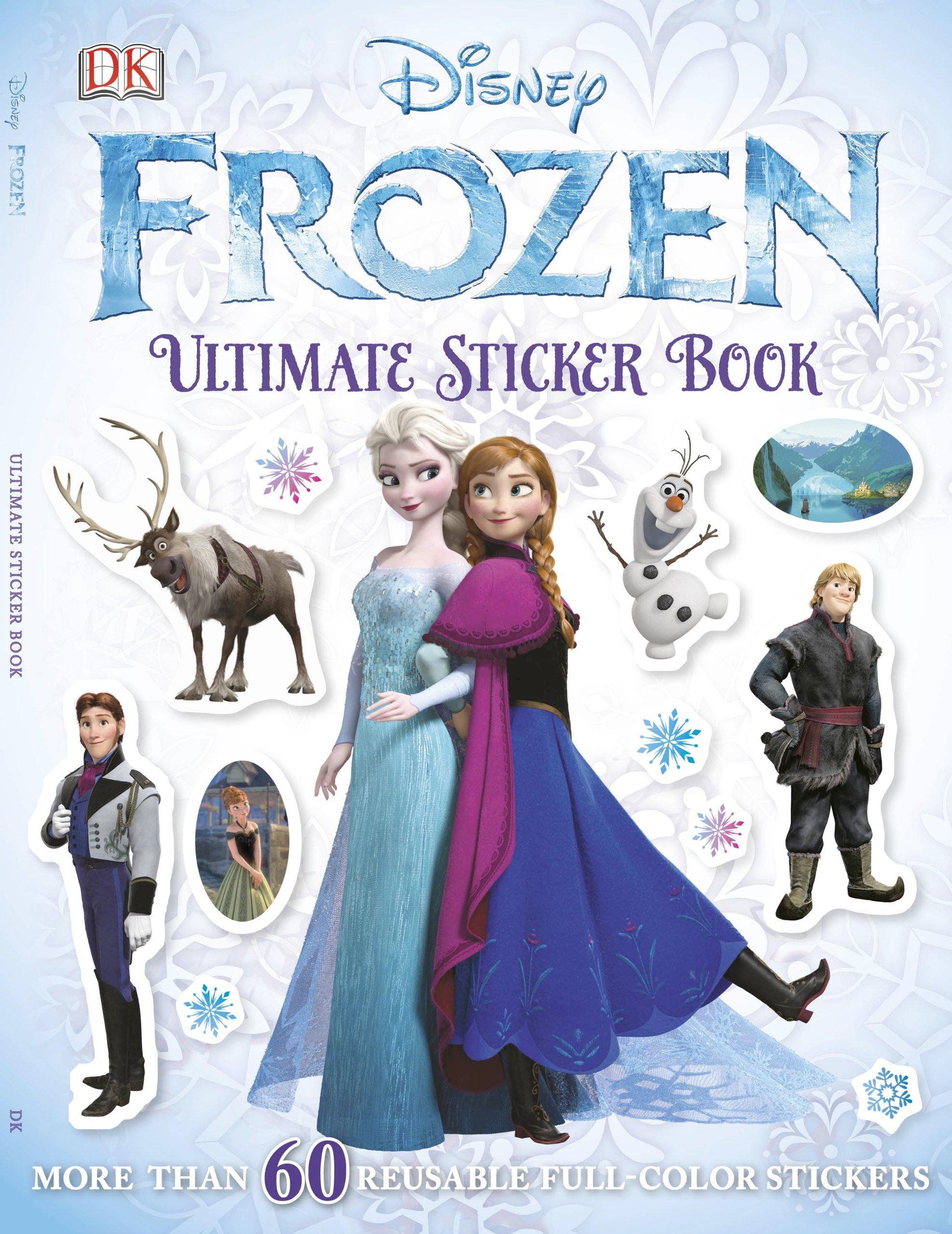 Olaf's Sticker Book with Anna and Elsa from Frozen