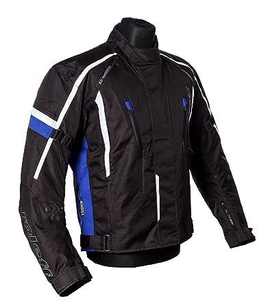 Roleff Racewear 150413 Veste Moto Ancône, Bleu, Taille M