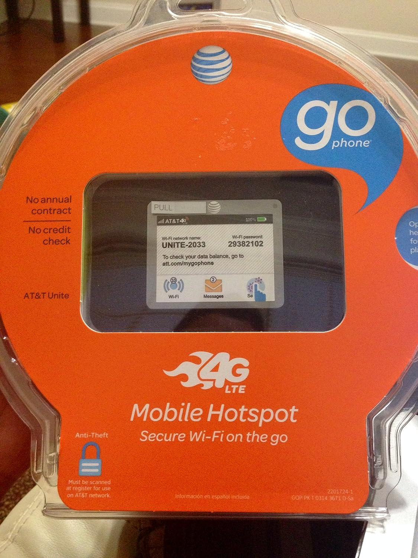 AT&T Unite Pro 4G LTE Mobile WiFi Hotspot (AT&T)