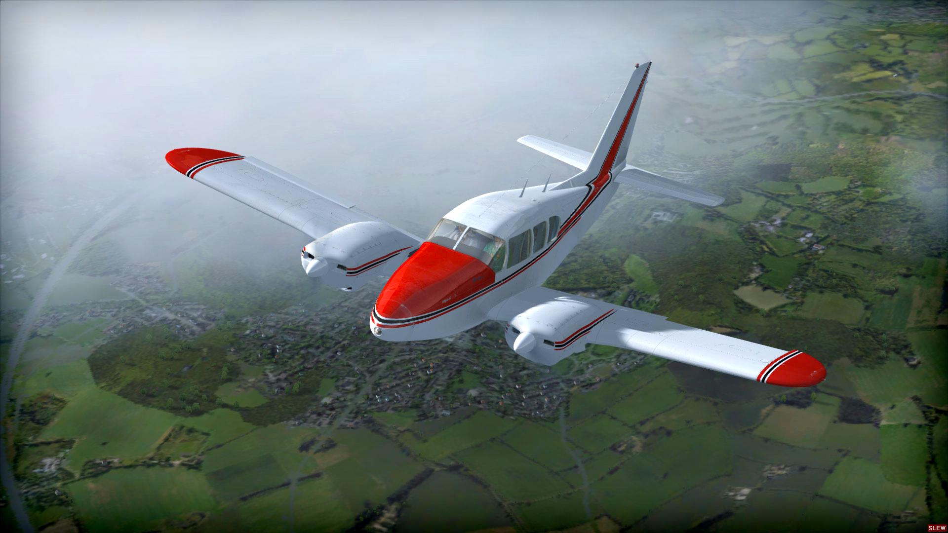 FSX: Steam Edition - Piper Aztec Add-On [Online Game Code]