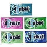 Wrigley's Orbit 20 Pack - 14 Piece Packages - Sugar Free Gum - Variety Box (Tamaño: 20 Pack)