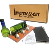 Bottle Cutter Kit to Make Glasses from Wine/Beer Bottles + Edge Sanding Paper