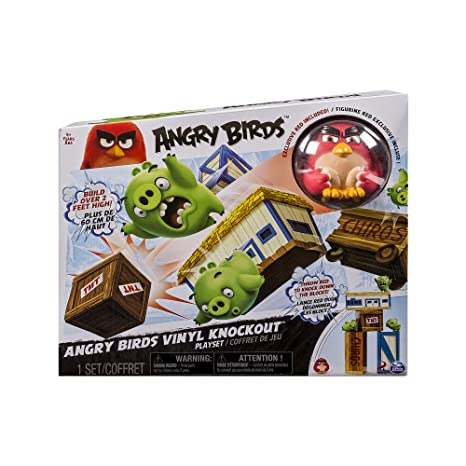 Angry Birds - 6027801 - Chamboule-Tout Géant