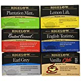 Bigelow Black Tea Variety Pack 120 Bags Caffeinated Individual Black Tea Bags, for Hot Tea or Iced Tea, Drink Plain or Sweetened with Honey or Sugar (Tamaño: 120 Count)